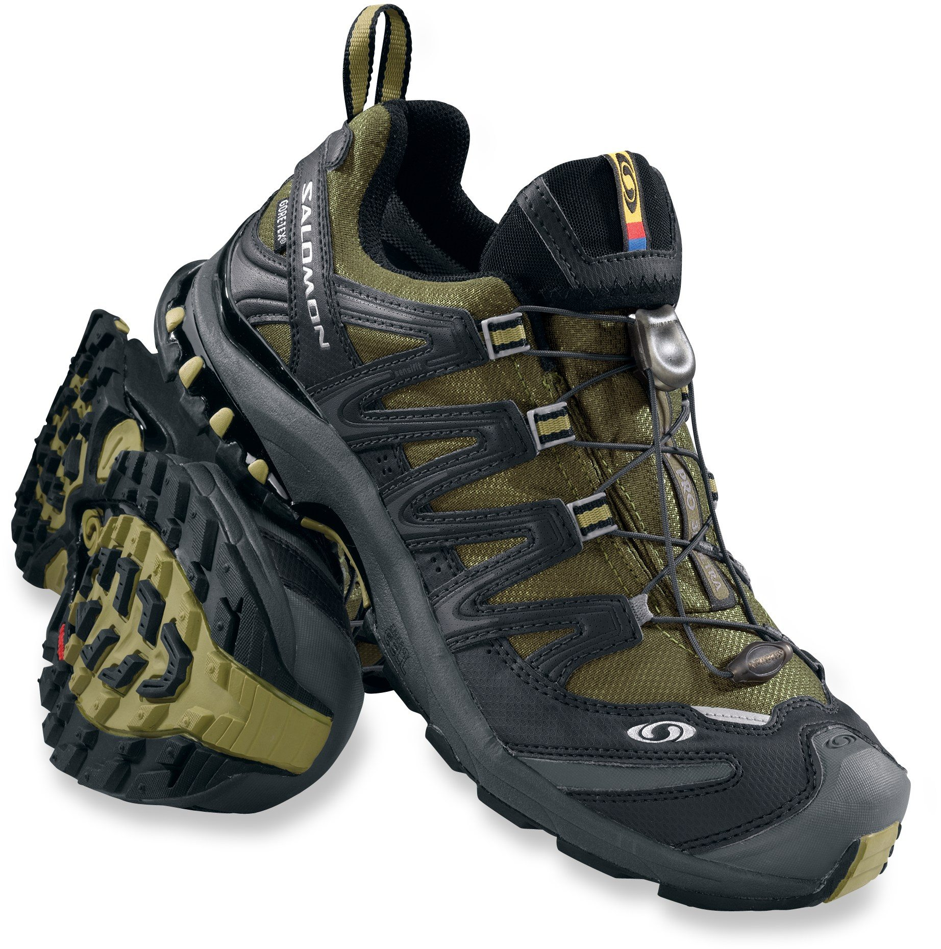 6dfa190809900 Salomon climbs a bit to a higher price point. The first shoe I found was  the Men s XA Pro 3D Ultra 2 GTX Trail Running Shoe. I t was also  waterproof