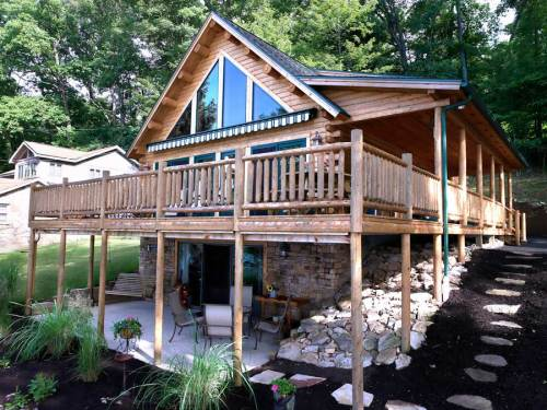Kodiak Log Home - Residential New Home Construction - Aver Contracting