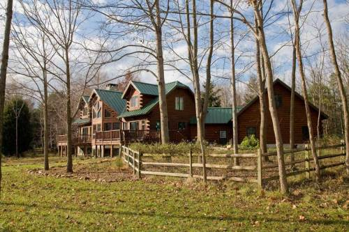 Lakeview Log Home - Residential New Home Construction - Aver Contracting