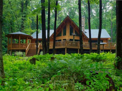 Plantation Log Home - Residential New Home Construction - Aver Contracting