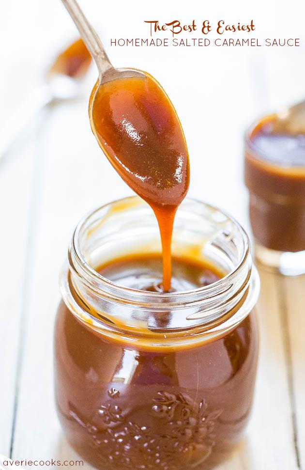 The Best Salted Caramel Sauce So Easy Averie Cooks