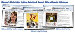 MSN.com Annual Special Slideshows