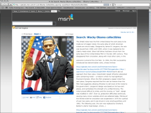 Wacky Obama Merchandise
