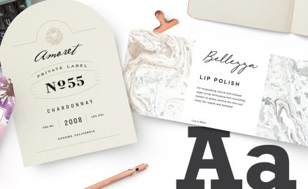 How to Pick the Right Font for Your Labels