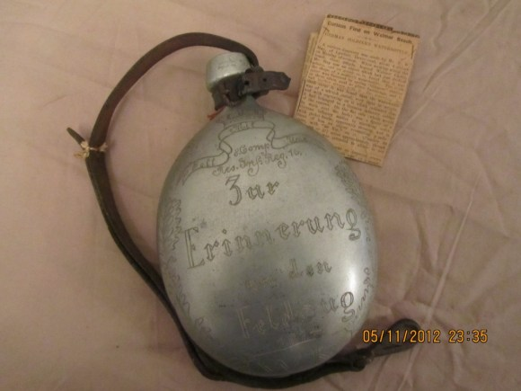German Soldiers Water Bottle