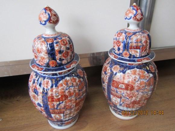 Imari Vases In Fulham Valuation For Probate