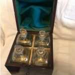 Georgian Campaign Decanter Box Valued For Probate In Hampstead NW3 Property