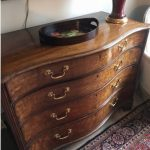 Probate Contents Valuation – Superb George III Serpentine Chest Valued For probate In Hampstead Property