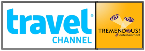 travel channel and tremendous logo