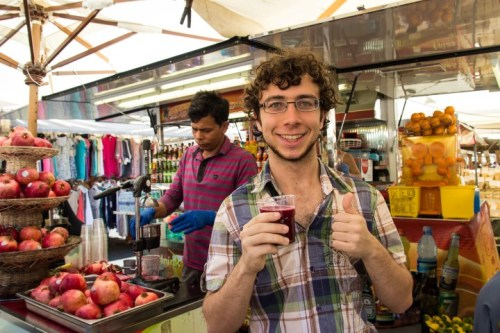 campo de fiori avery pomegranate juice