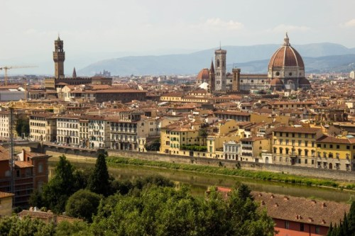 Florence Piazzale Michelangelo view 2