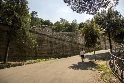 Road to San Miniato al Monte