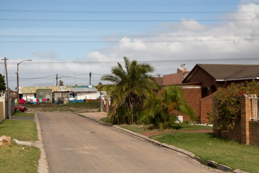 cape town langa township inequality