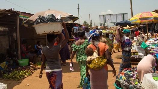 ghana accra malata market