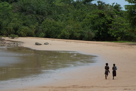 ghana ezile bay village beachkids