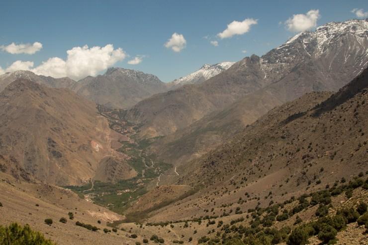 morocco atlas mountains scenery