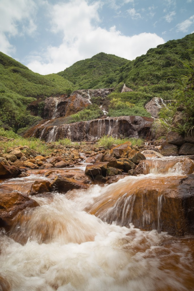 Jiufen Golden Waterfall 黃金瀑布