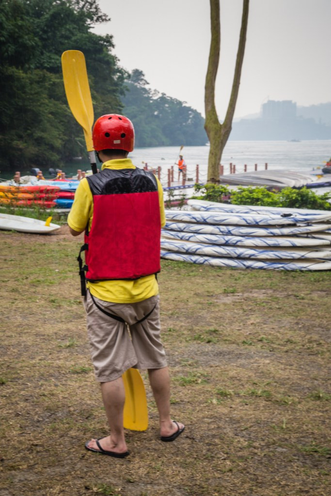 Sun Moon Lake Extreme Kayaking