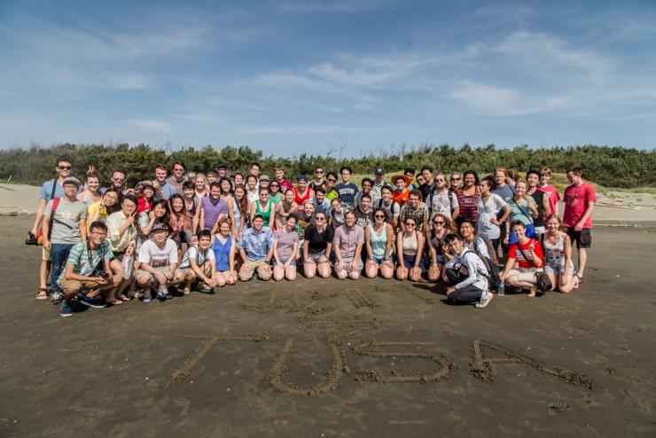 TUSA 2015 Group Photo Beach