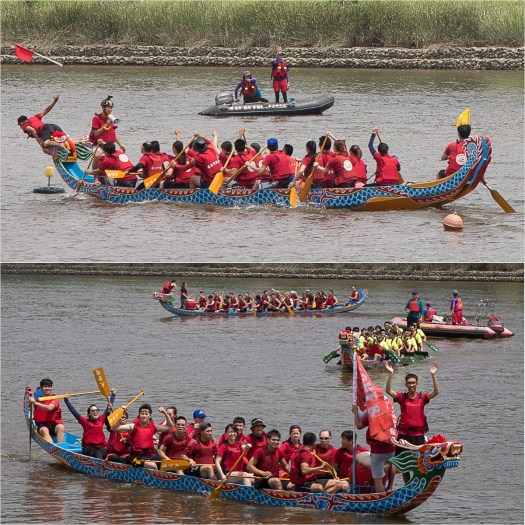 dragonboat race victory