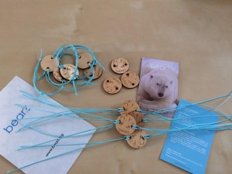Découvrez les bracelets éco-solidaires Bearz sur http://www.bearz.org