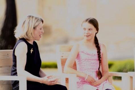 Greta Thunberg à Caen - remise du prix liberté - 21 juillet 2019 © AVES France