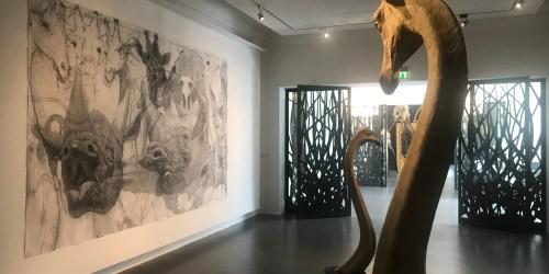 Art et animaux : la fabuleuse exposition de Quentin Garel à Saint-Pierre-de-Varengeville (76)