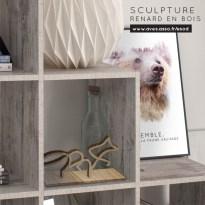 sculpture renard