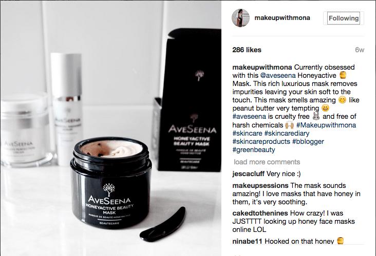Aveseena reviews on instagram