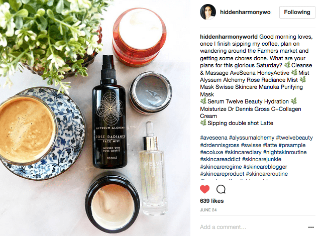 Hidden harmony world Instagram Honeyactive beauty mask