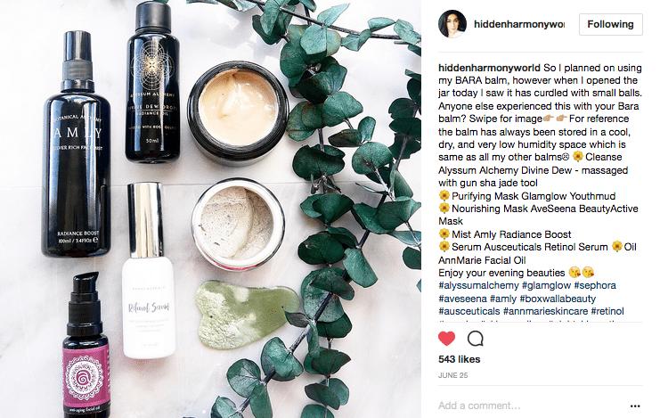 Hidden harmony world Instagram Honeyactive beauty mask skin care face