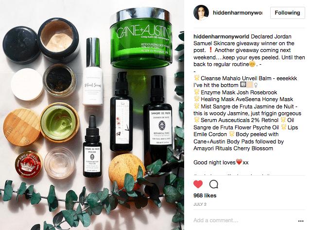 Hidden harmony world Instagram Honeyactive beauty mask review best face mask