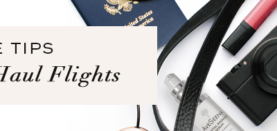 Skin Care Tips for Long Tiring Flights