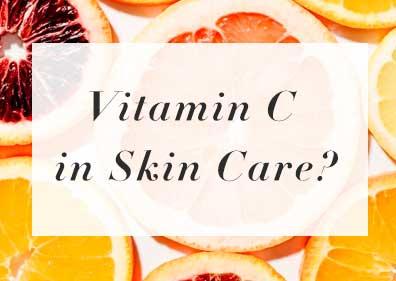 vitamin c anti-aging skin care