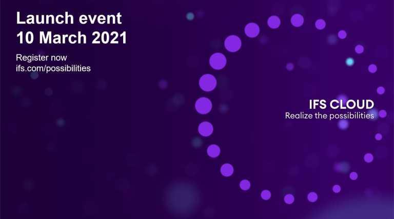 IFS Cloud Launch keskiviikkona 10.3.2021!