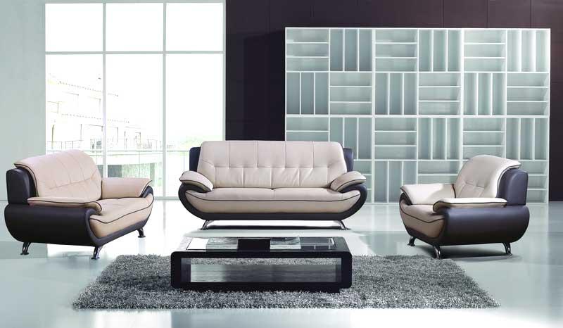 AE208 LG Leather Sofa Set Leather Sofas