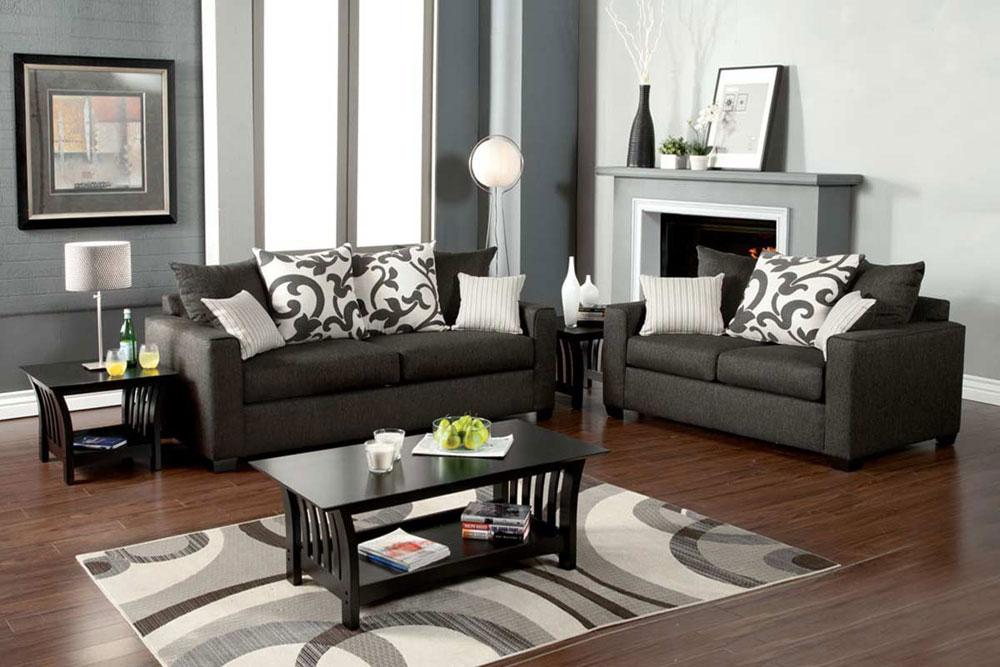 Grey Living Room Furniture Sets