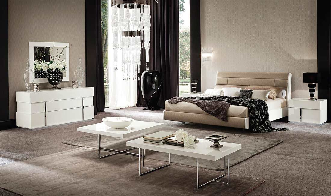 Italian Ecoleather Canova Bedroom By Alf Furniture Alf