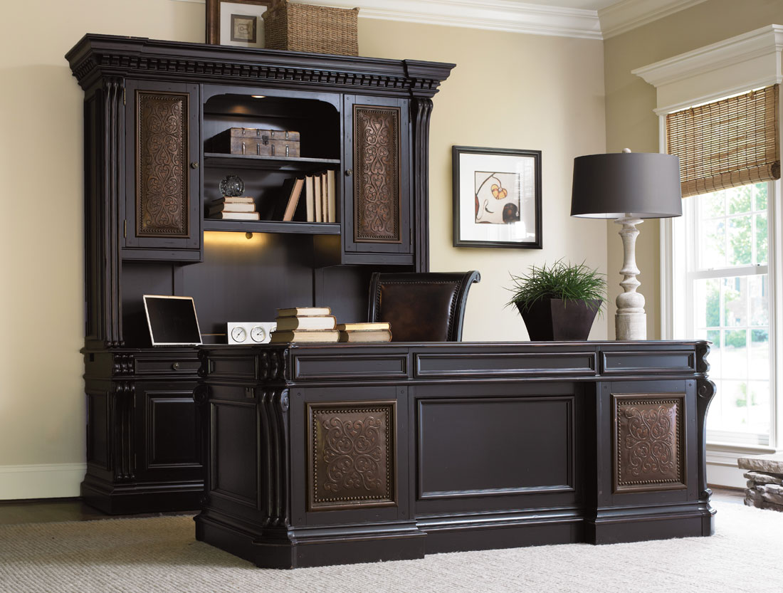 Telluride Computer Credenza By Hooker Furniture Hooker