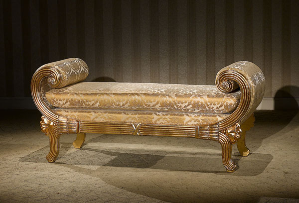 Classic Victorian Style Bench Accent Seating