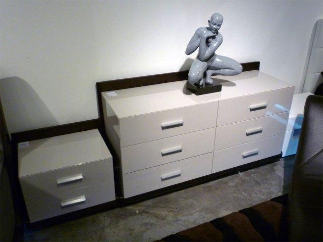 Modern LED Bedroom Set Rivera | Contemporary Bedroom