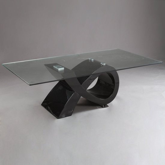 biagio lacquer base w glass top dining table cr modern dining b131t modern noble lacquer dining table