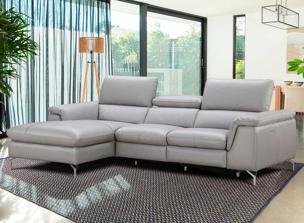 Leather Sectional Chaise And Recliner