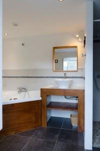 Salle de bain gîte de charme en Aveyron