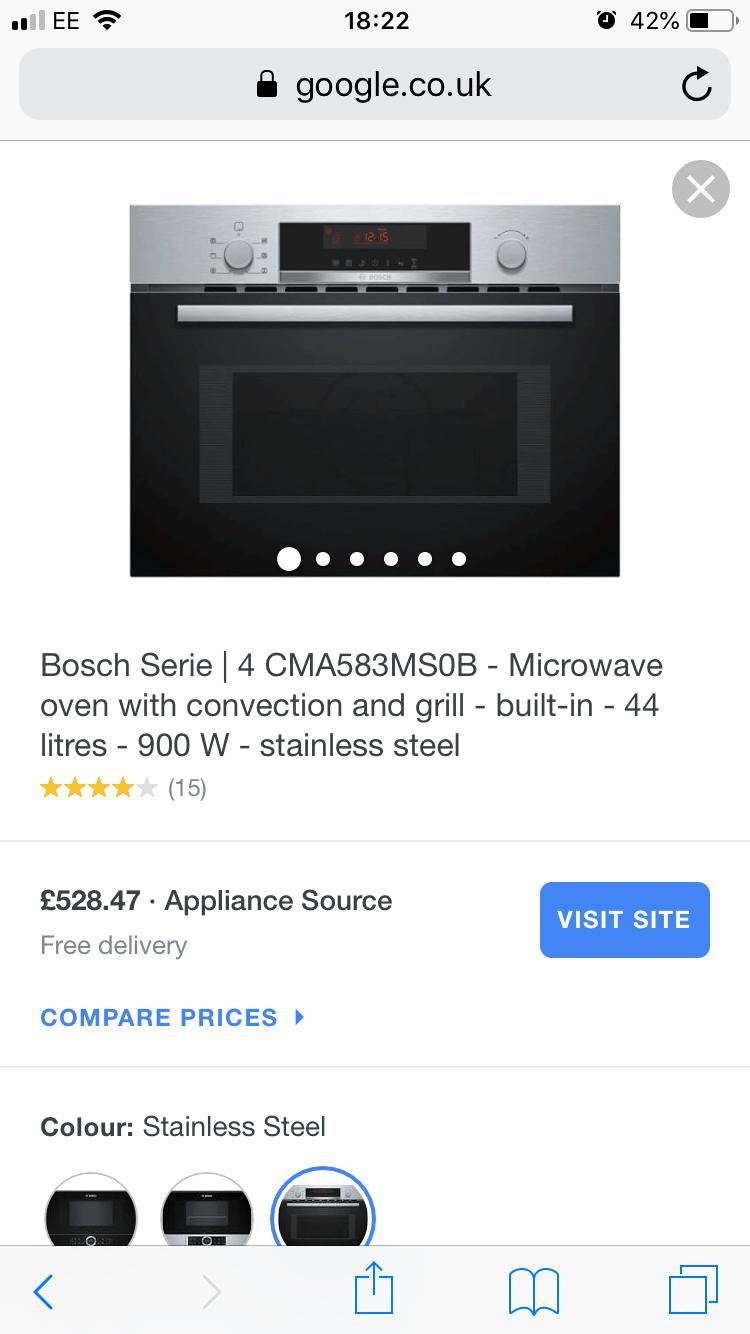 bosch built in micro oven combi door