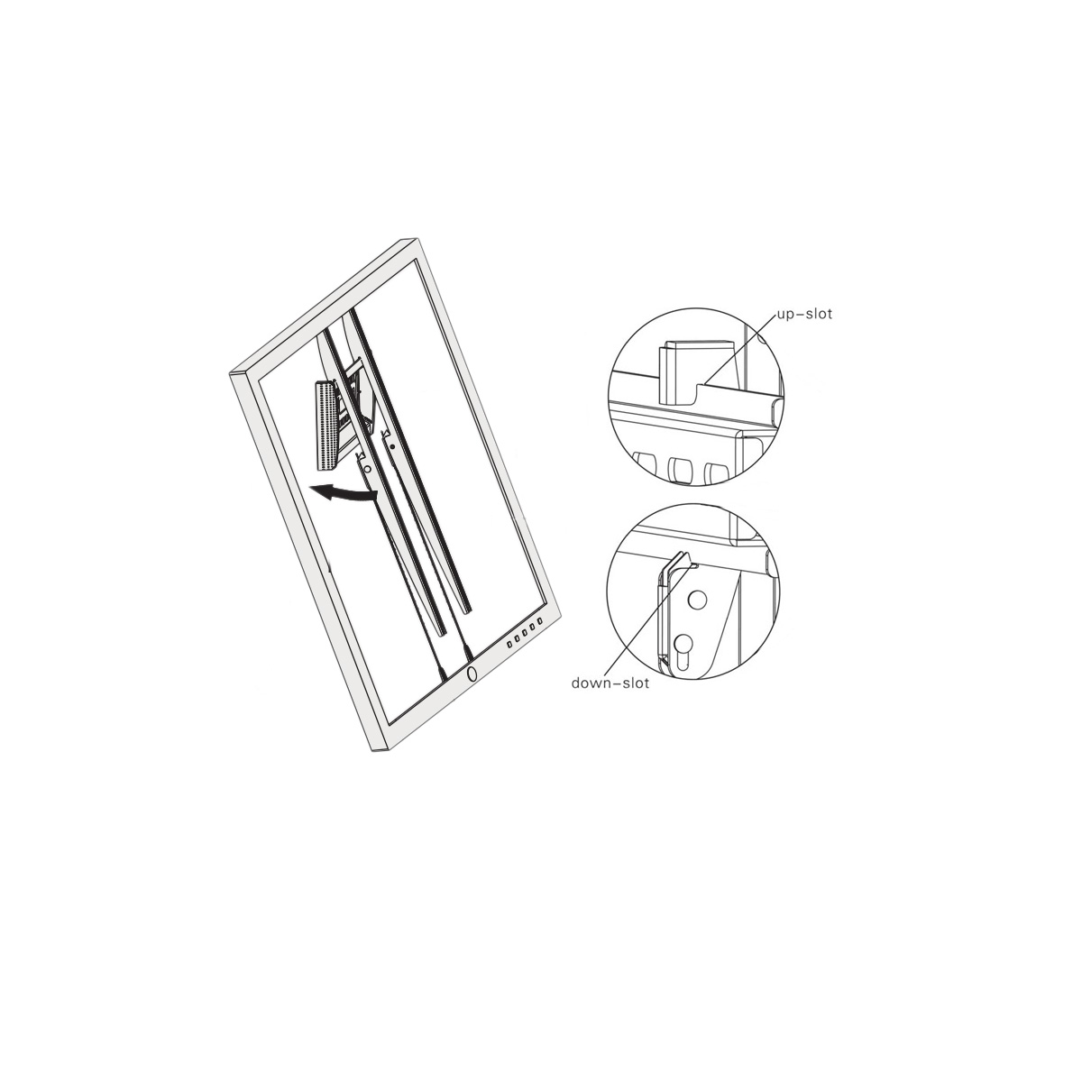 Boost Universal Wmf Fixed Tv Mount For 40 To 65 Tvs