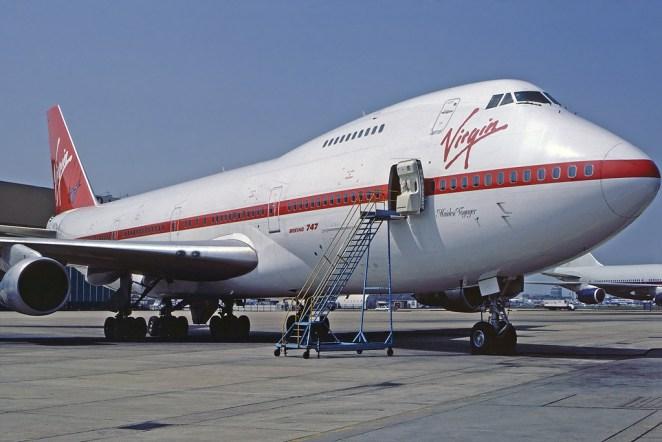 Virgin Atlantic G-VIRG by Steve Fitzgerald.