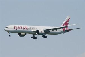 Qatar Airways 777-300ER (Photo by Wikipedia)