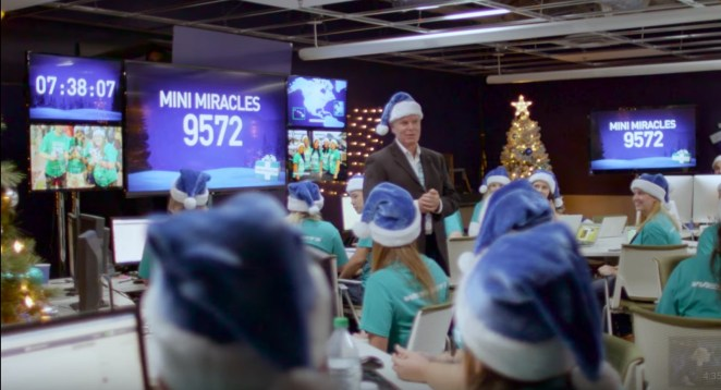 Westjet outdid themselves this year by completing 12,000 'miracles' for people all across their route network.