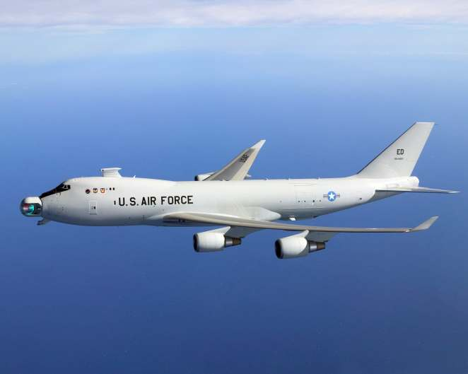 Airborne Laser Testbed known as the YAL-1A. Credit: US Air Force